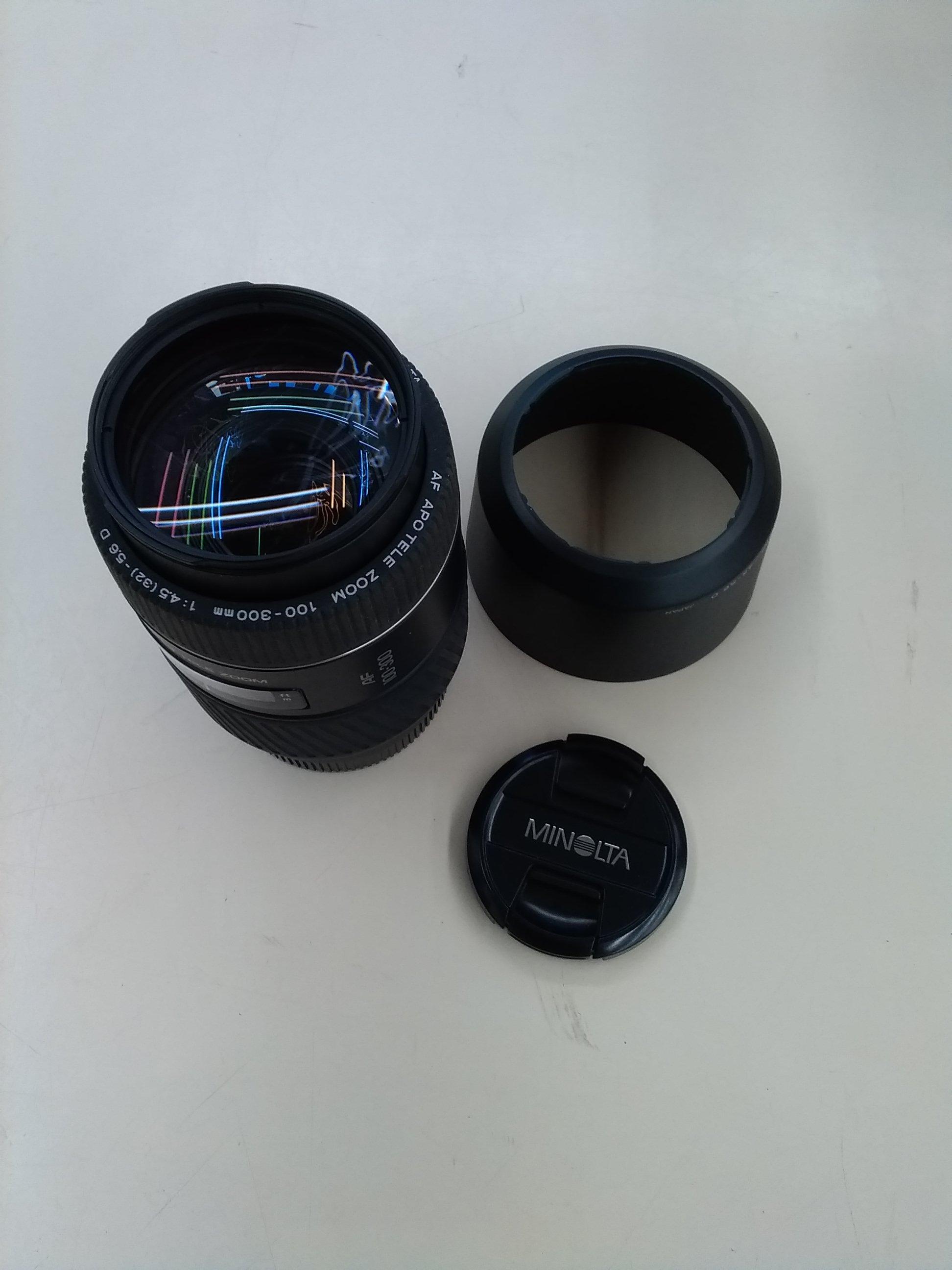 【MINOLTA】100-300mm F4.5-5.6D|MINOLTA