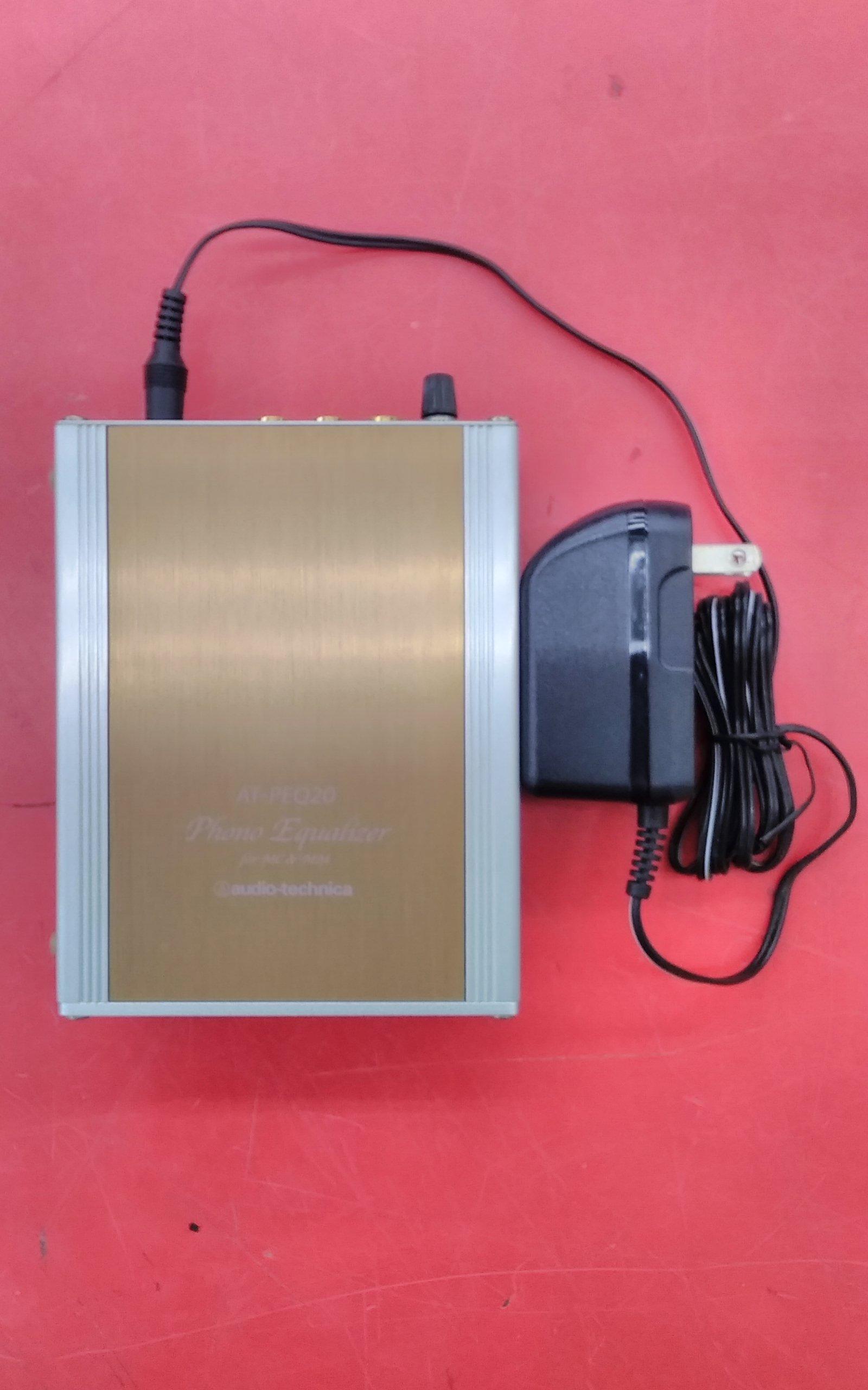 audio technica/AT-PEQ20/フォノイコ AUDIO TECHNICA