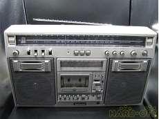 メタルテープ対応ラジオカセット NATIONAL
