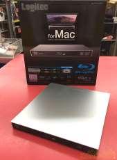 ※Mac対応※ポータブルBlu-rayドライブ|LOGITEC