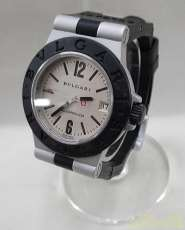 アルミニウム AL32A ボーイズ腕時計シルバー文字盤|BVLGARI