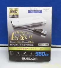 外付けSSD|ELECOM