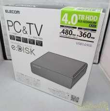未使用品 TV&PC対応HDD|ELECOM