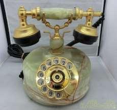 アンティーク調ダイヤル式電話機|日興電機製作所