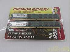 デスクトップPC用DIMM DDR2-800/PC2-6400|TRANSCEND