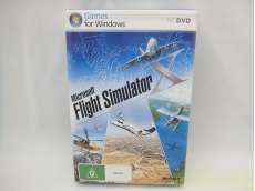 MICROSOFT FLIGHT SIMULATOR X|-