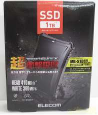 【未使用】外付けポータブルSSD 1T|ELECOM
