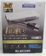 【未使用】SSD 外付けポータブル 960GB|ELECOM