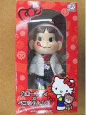 ハローキティ×ペコちゃん人形|FUJIYA&SANRIO