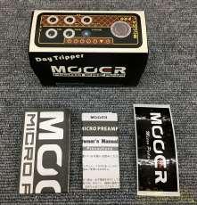 ギター用プリアンプ『Micro Preamp 004』|MOOER