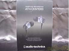 ATH-CKM1000 新品 未使用(撮影の為開封)