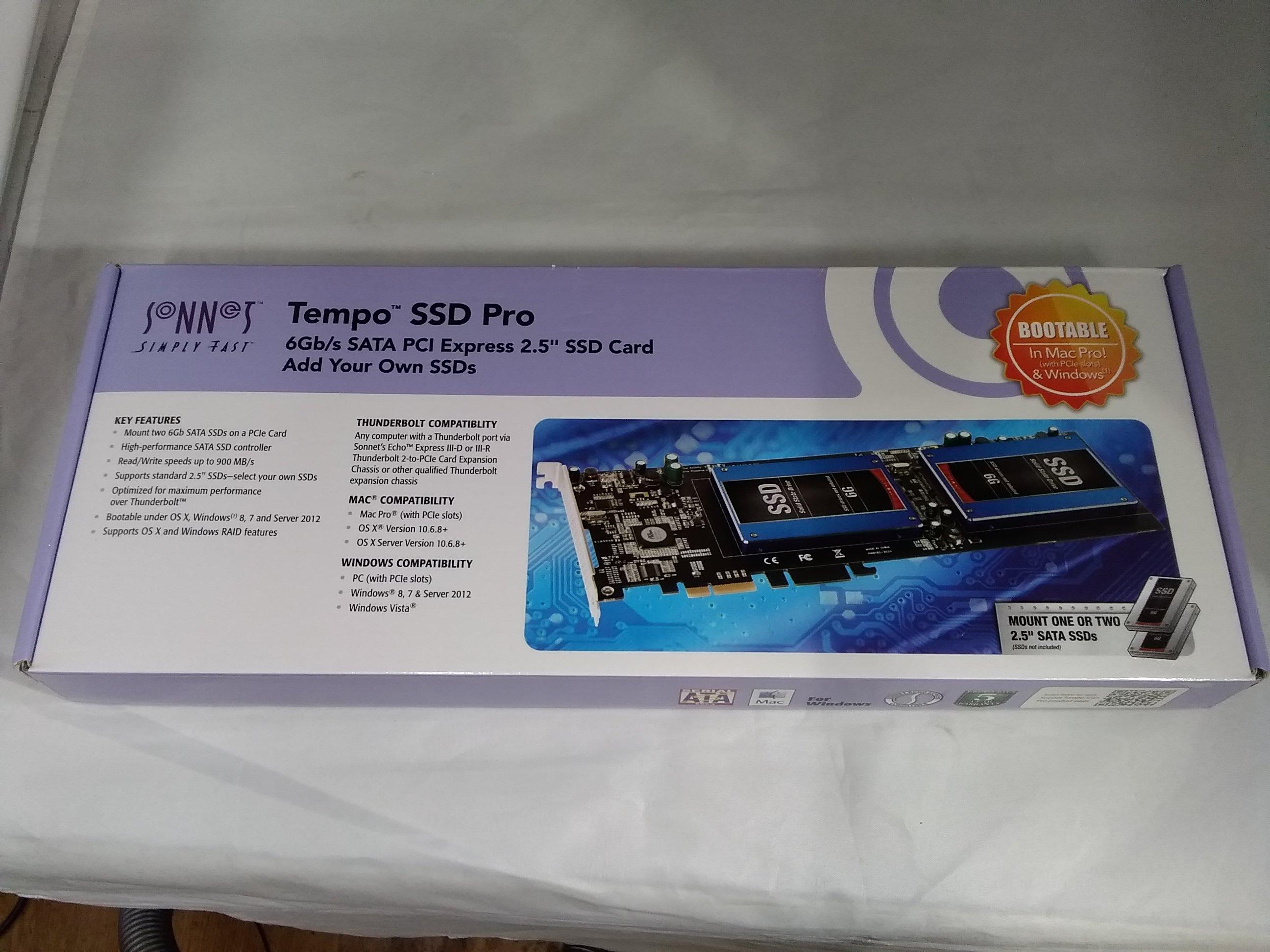 PCI EXPRESSカード TEMPO