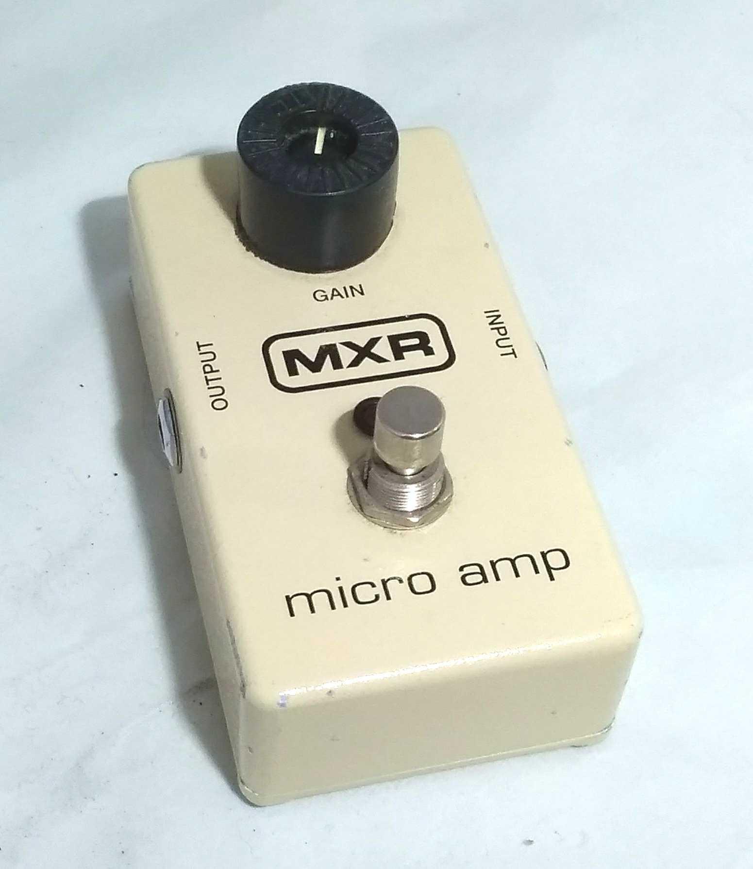 ブースター MXR