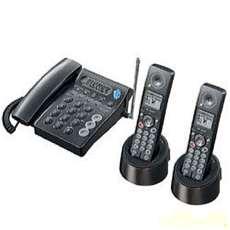 電話機 子機2台付き