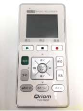 AM/FMラジオレコーダー QRIOM