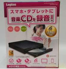 ワイヤレスDVD再生ドライブ|LOGITEC