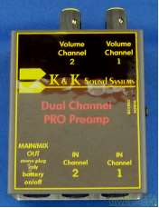 エフェクター・プリアンプ|K&K