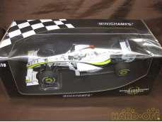 Jenson Button Brawn GP BGP 001|MINICHAMPS
