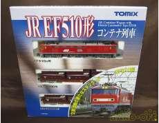 【美品】JR EF510形 コンテナ列車|TOMIX