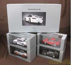 Porsche GT3 4台セット MINICHAMPS