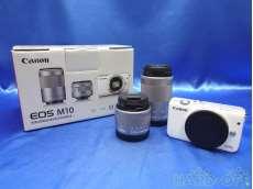 EOS M10 ダブルズームキット|CANON