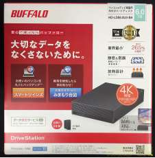外付けHDD 6TB|BUFFALO