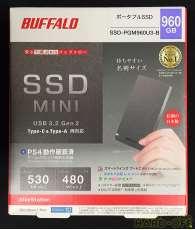 ポータブルSSD 960GB|BUFFALO