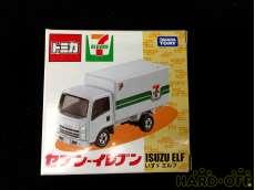 未使用 ② セブンイレブン限定トミカ いすゞ エルフ 配送トラック TAKARA TOMY
