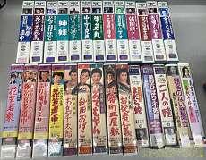 美空ひばり VHS まとめ売り -----