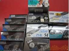 ハイポジ カセットテープ 19本セット|FUJIFILM AXIA