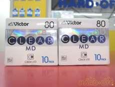 MDディスク 2個セット (未使用品)|VICTOR