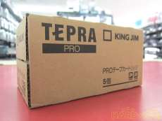TEPRA PRO テープカートリッジ (未開封品) KING JIM