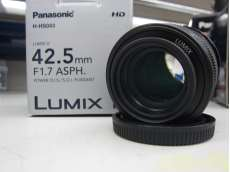 マイクロフォーサーズ用標準・中望遠単焦点レンズ PANASONIC