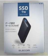 【未使用品】 外付けポータブルSSD ELECOM