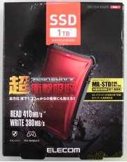 【未開封品】 外付けポータブルSSD ELECOM