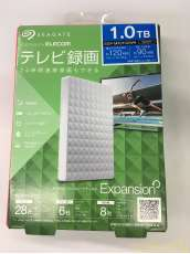 「未開封」 SGP-MX010UWH 1.0TB 外付けHDD TV対応|SEAGATE