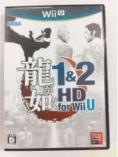 龍が如く1&2 HD for Wii U|SEGA