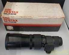 望遠レンズ PENTAX