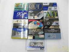 カセットテープ 37本セット ノーマルポジション