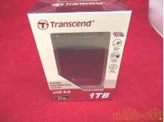 USB3.0/2.0接続外付けHDD TRANSCEND