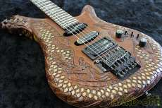 彫刻ギター その他ブランド