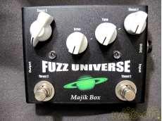 オーバードライブ fuzz universe majik box