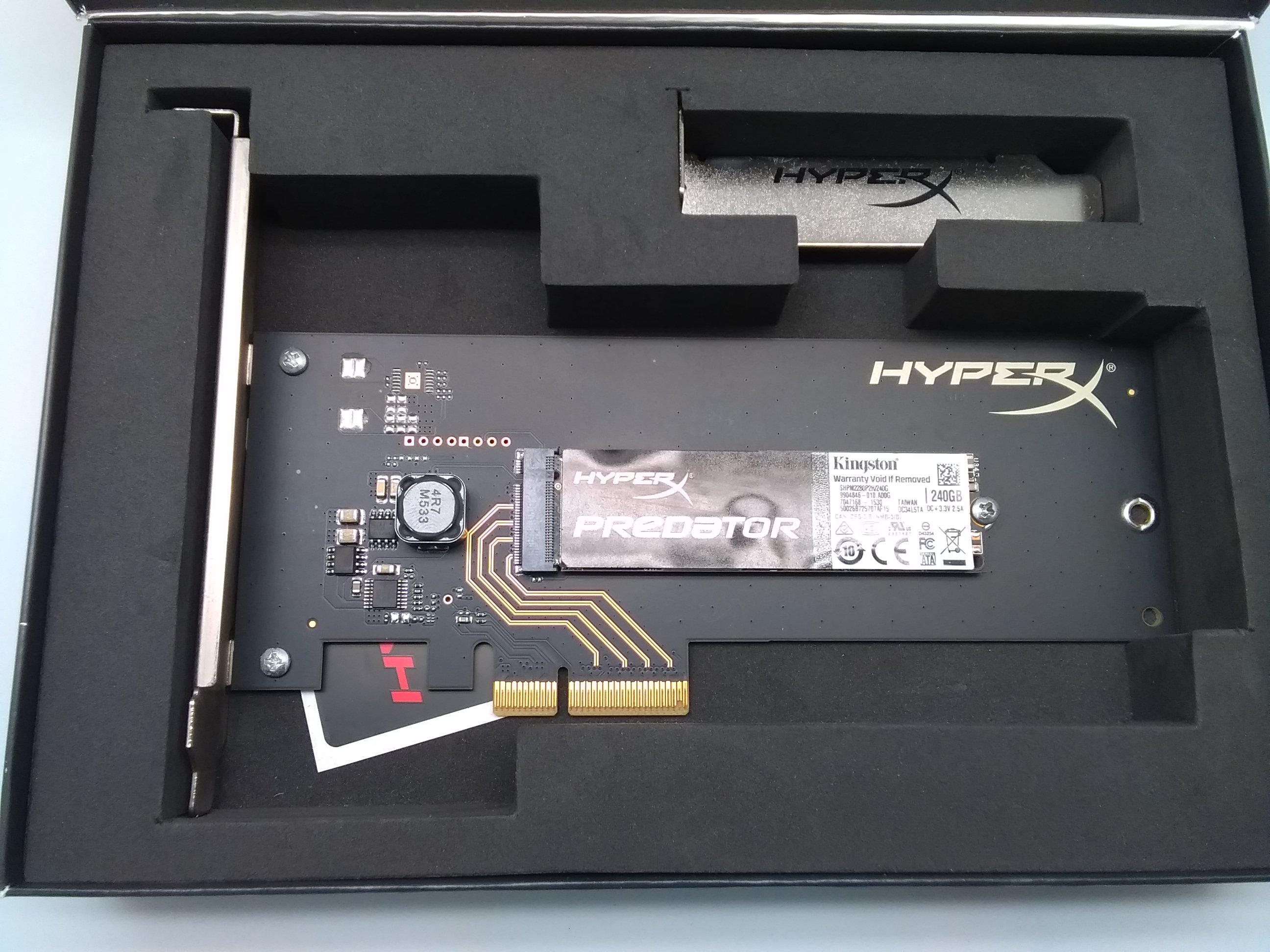 SSD 240GB SHPM2280P2H HYPER