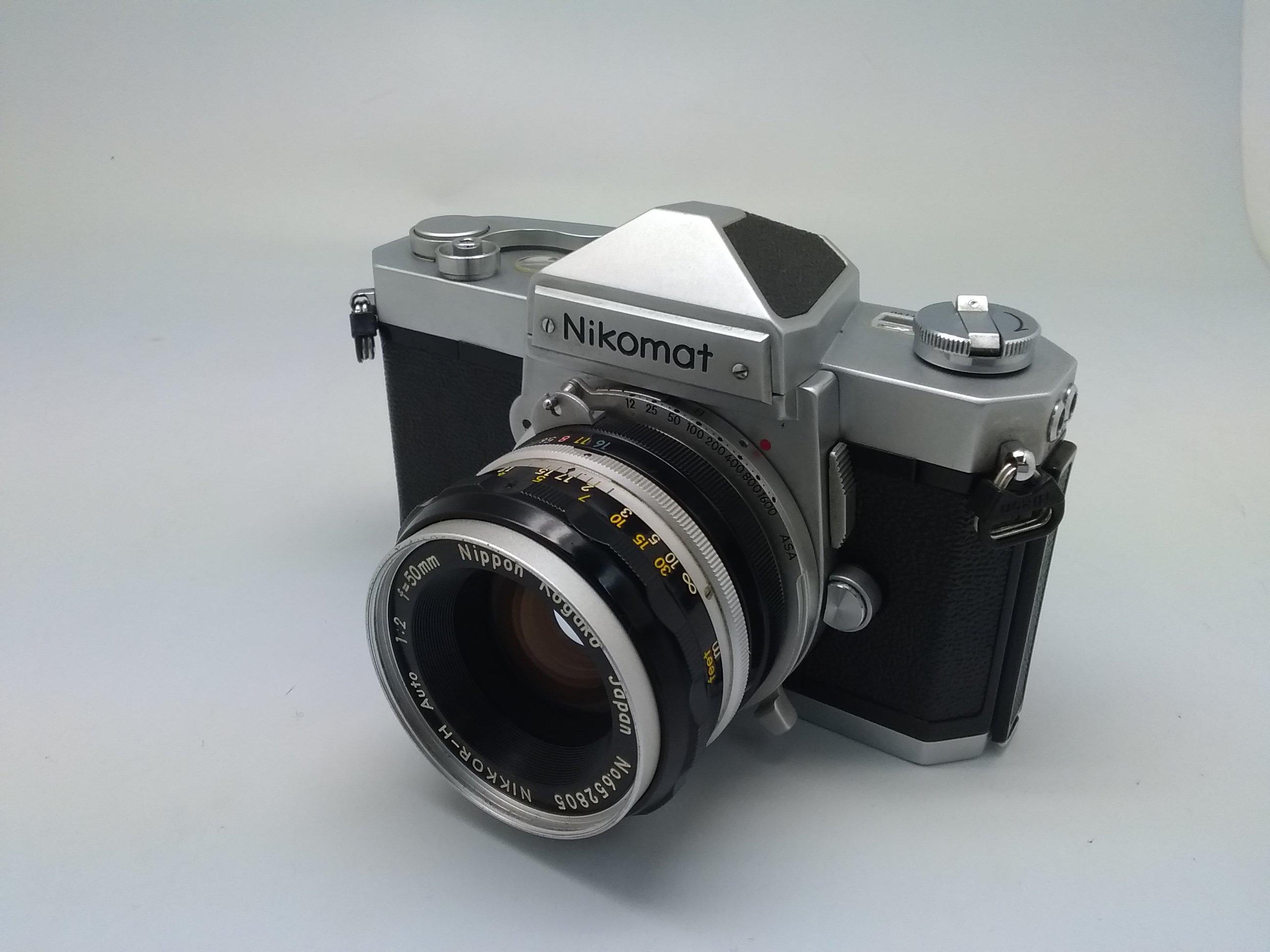 一眼レフ Nicomat FT 50mm f:2|NIKON