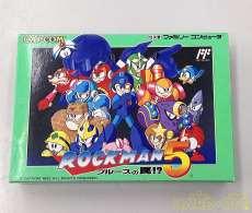 ロックマン5(箱、説明書付き) CAPCOM