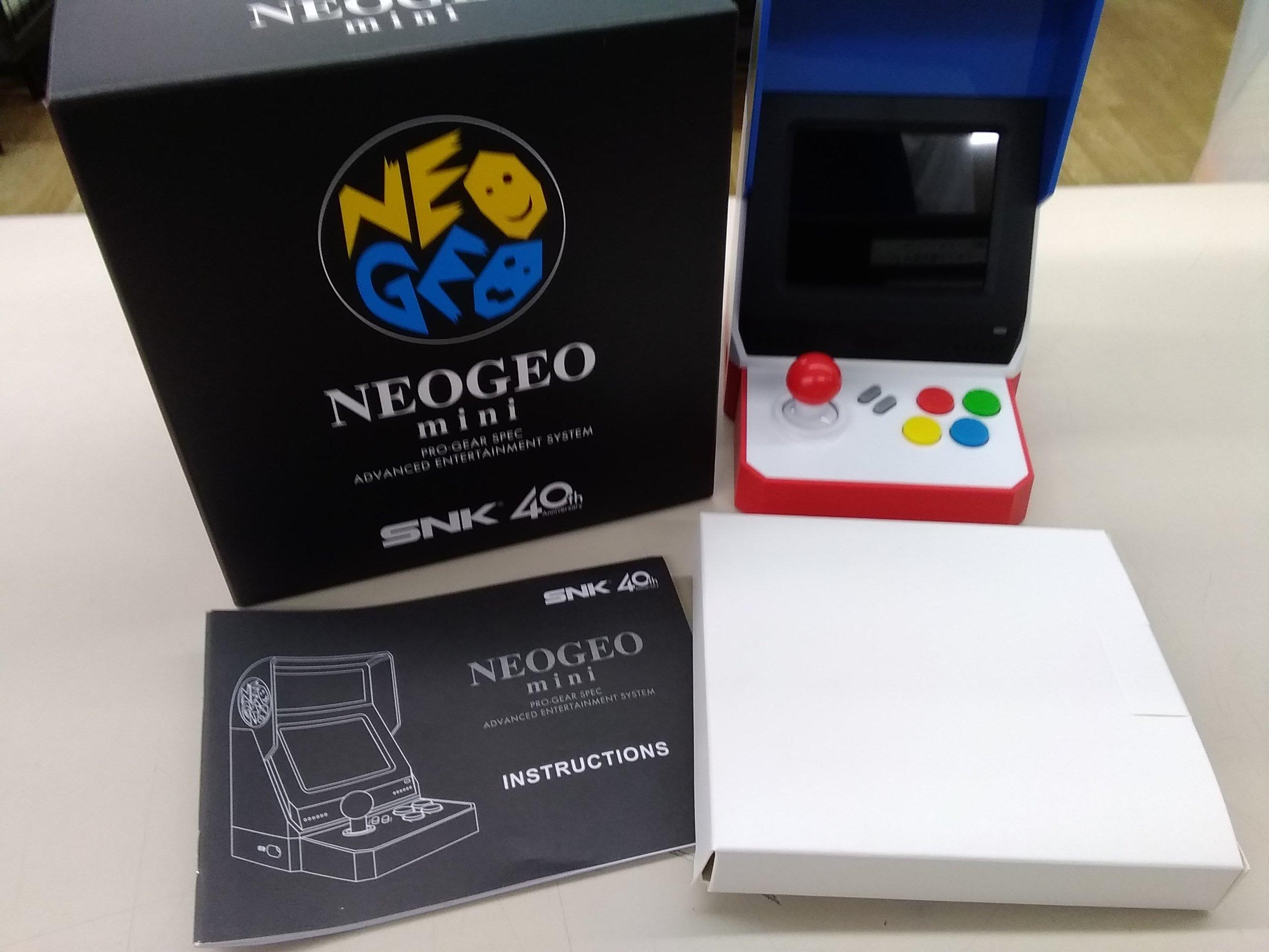 レトロゲーム本体|SNK