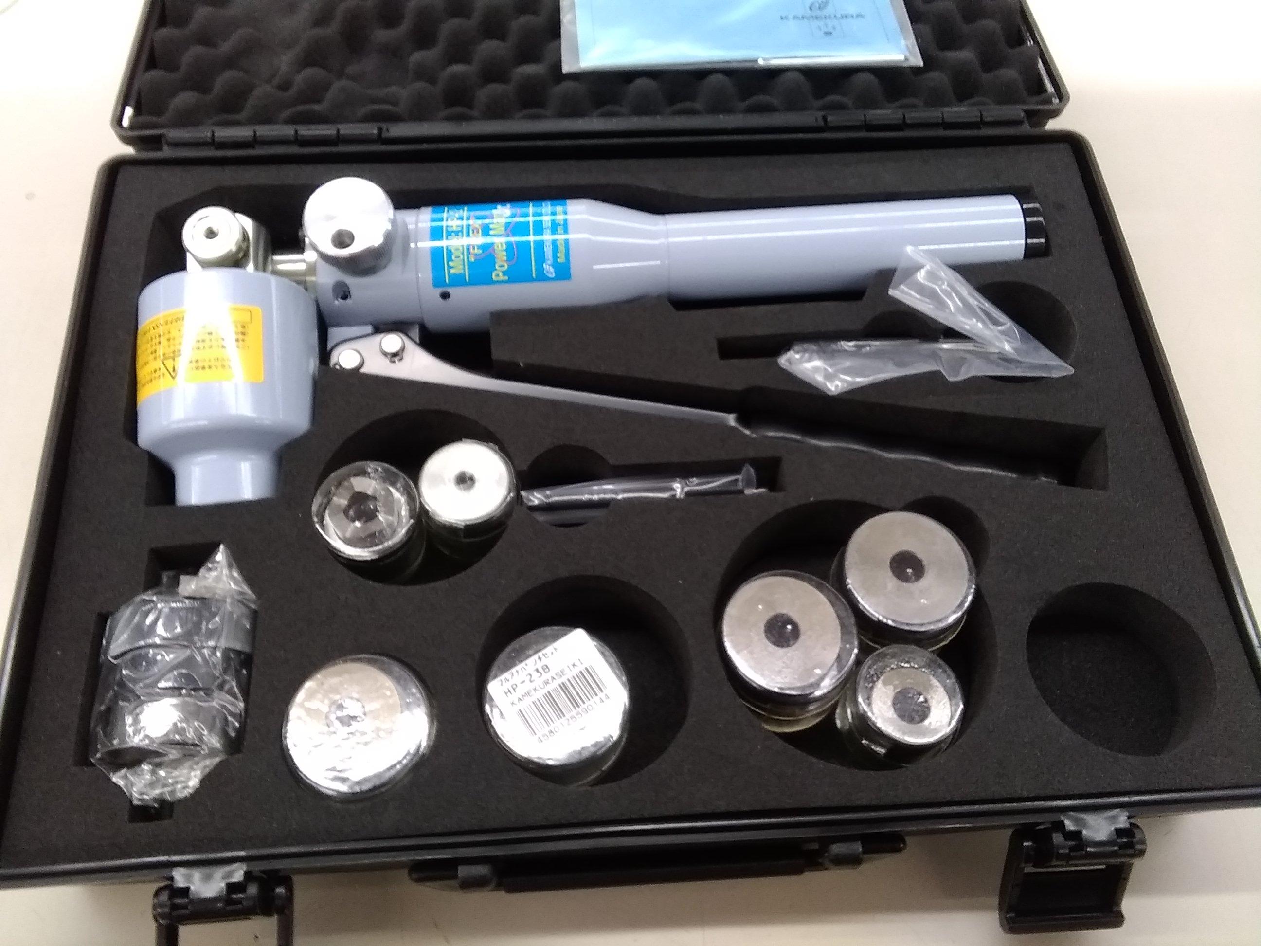 手動油圧式パンチャー|亀倉精機