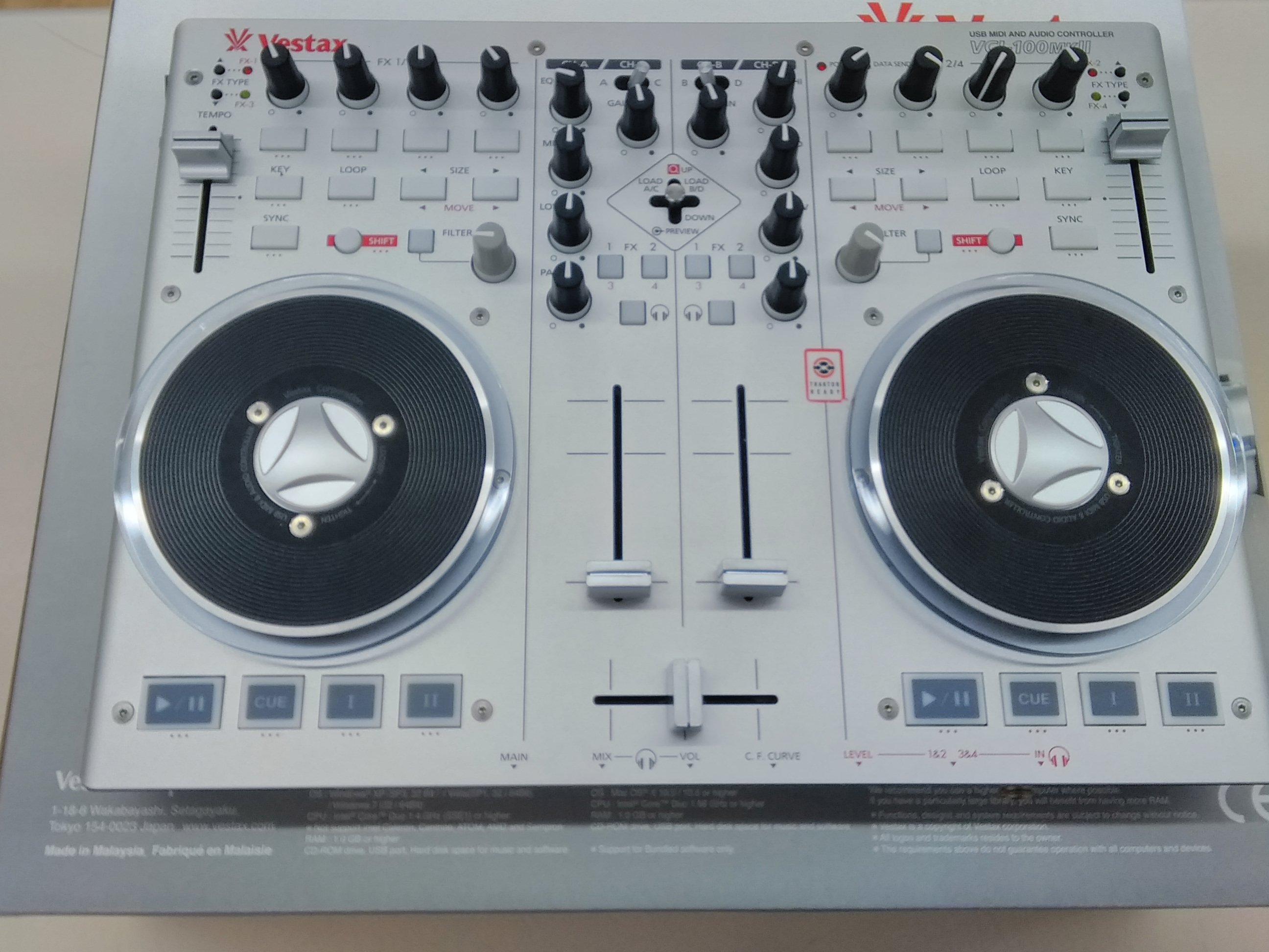 MIDIコントローラ|VESTAX