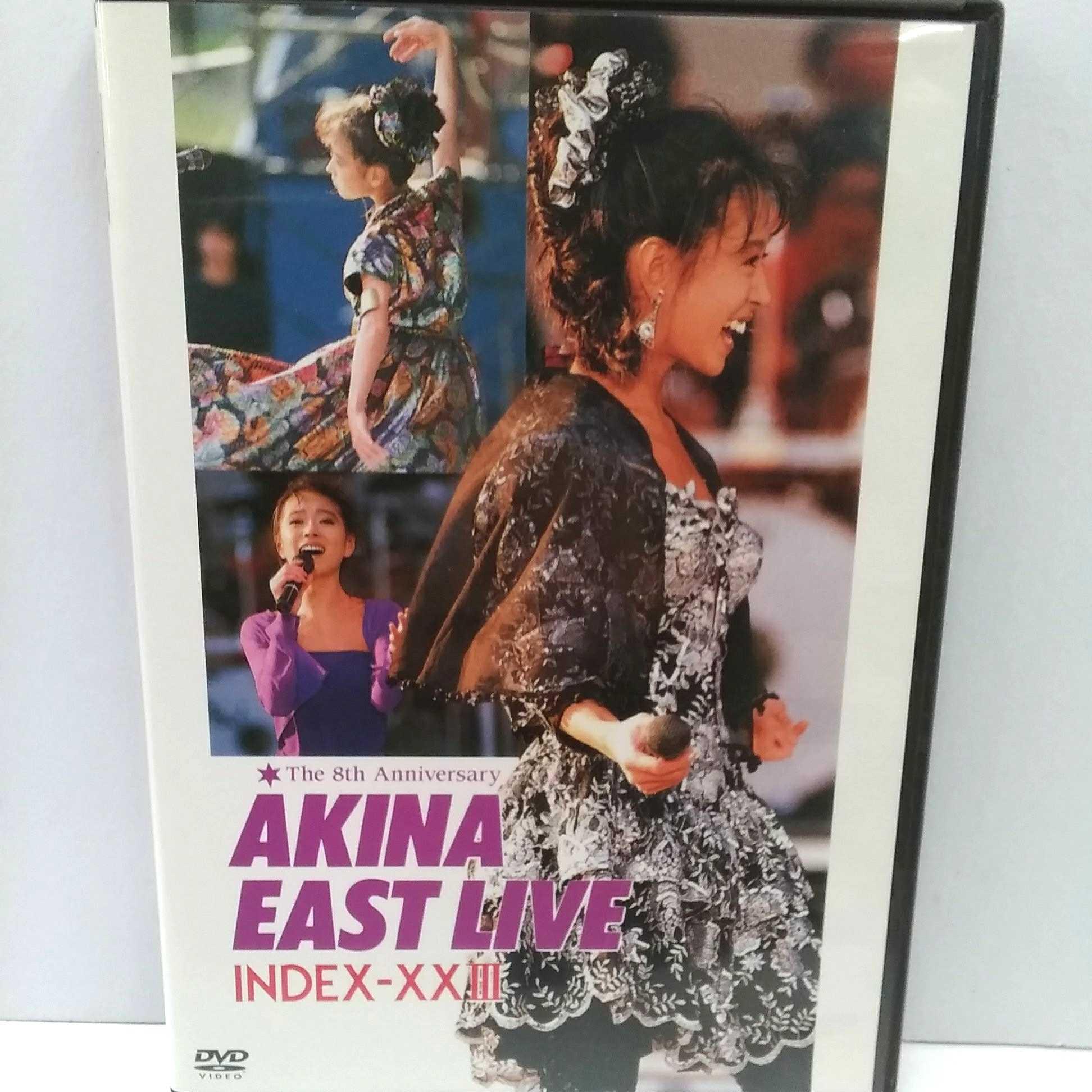 中森明菜 イースト・ライブ インデックス23|ワーナーミュージック・ジャパン