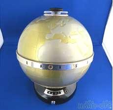 【ジャンク】地球儀型トランジスタラジオ その他ブランド